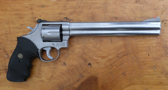 "686 Smith & Wesson with 8 3/8"" barrel"
