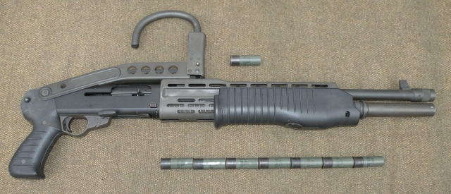 The SPAS-12 with 8 round capacity
