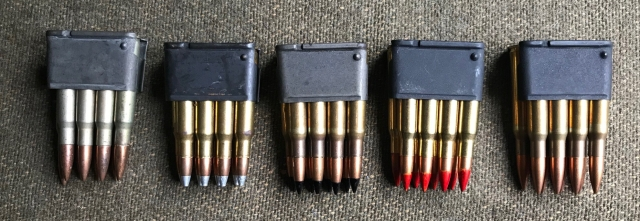 color coded M2 ammo