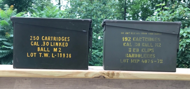 30cal. ammo cans