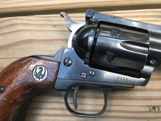 Ruger Blackhawk with three screws