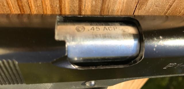 Para Ordnance P14-45 top view